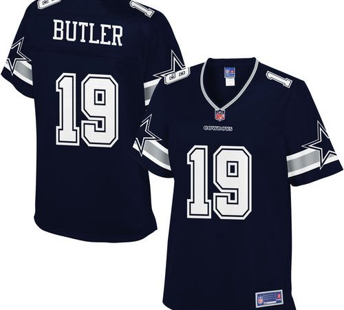 low priced c3db9 fe2bf Women's Dallas Cowboys Brice Butler NFL Pro Line Navy Player ...